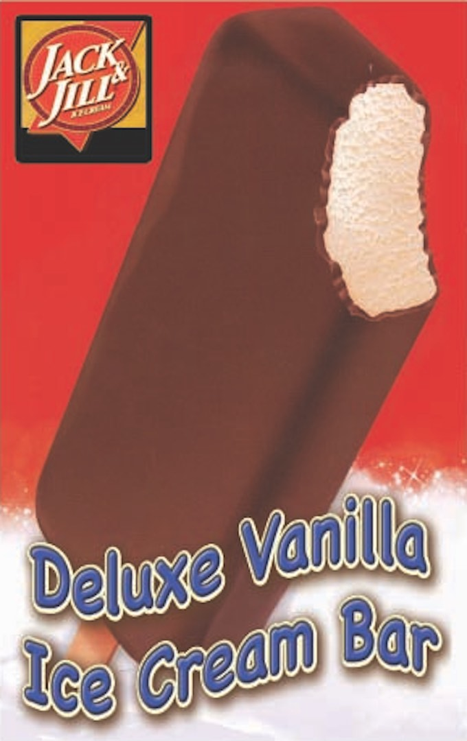 Vanilla Fudge Bar